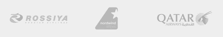 rossiya, nordwind, qatar airways