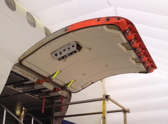cargo door shelter