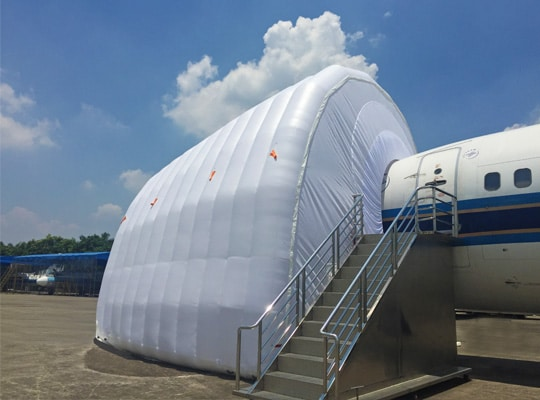 standard hangars page nose maintenance shelters