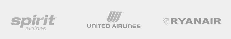 spirit airlines, united airlines, ryanair