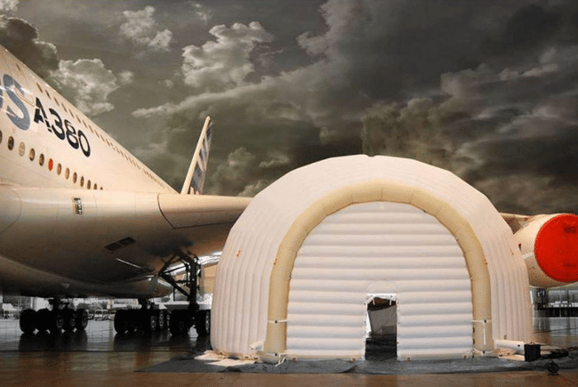 Airlines Inflatable Shelters