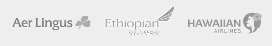 aer lingus, ethiopian airlines, hawaiian airlines