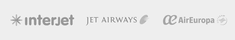 Interjet, Jet Airways, Air Europa